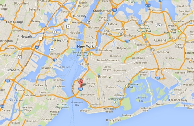 NYC Lamaze Map